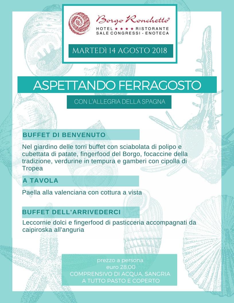 14.08.18 ASPETTANDO FERRAGOSTO